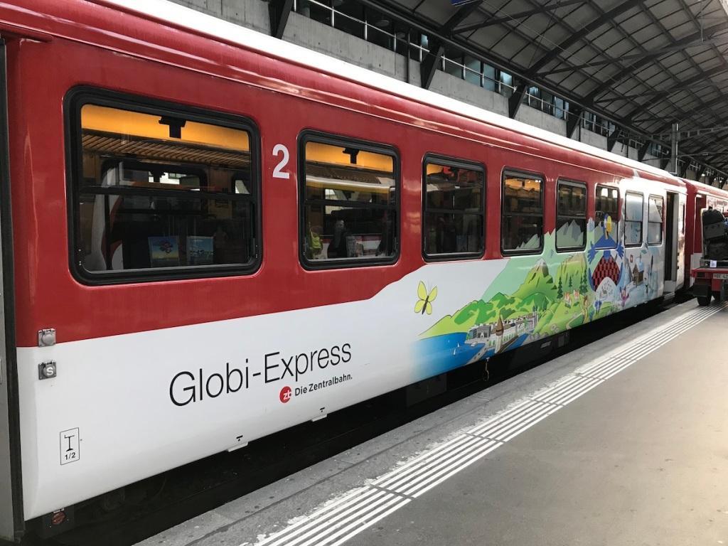 Luzern mit Kindern Globi Express BineLovesLife