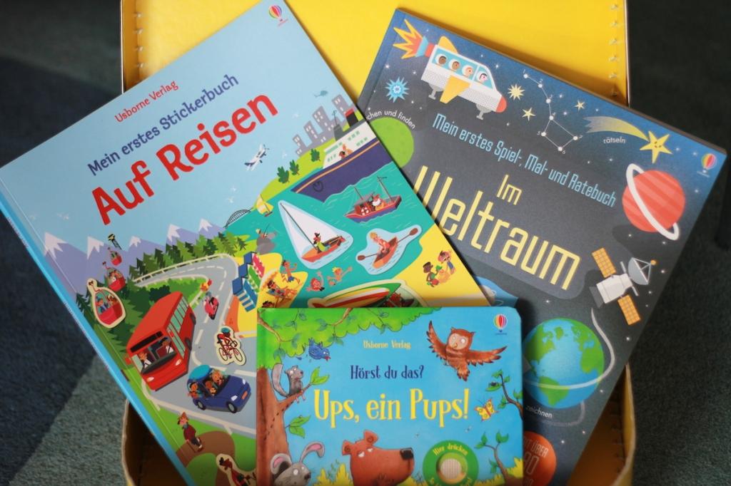 Lieblingsbücher auf Reisen für Kinder BineLovesLife