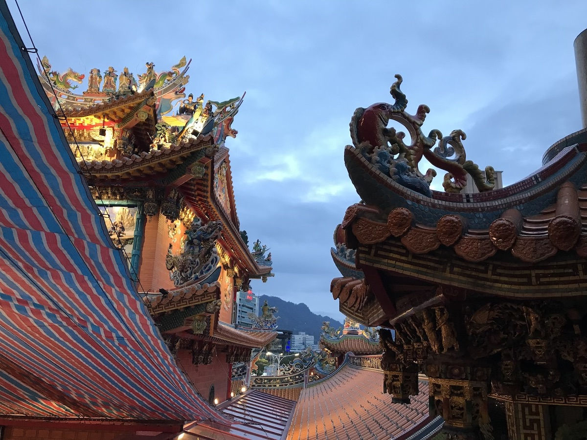 Ciyou Tempel Taipei mit Kindern TravelTuesday BineLovesLife