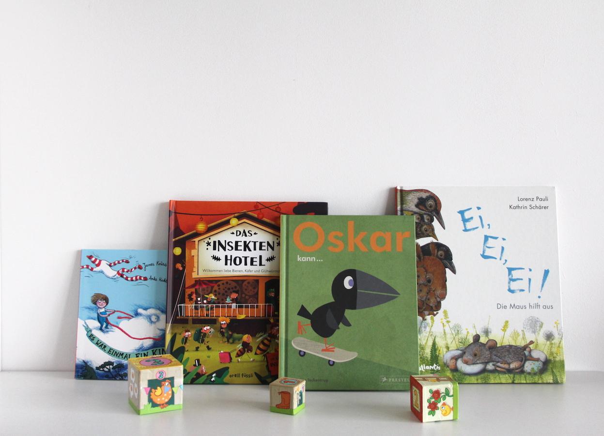 Kinderbücher zum Frühlingsanfang BineLovesLife