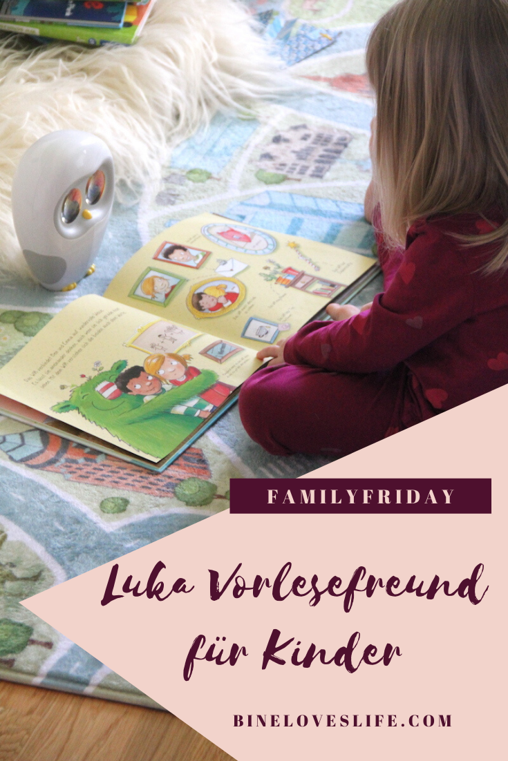 Luka Vorlesefreund für Kinder BineLovesLife