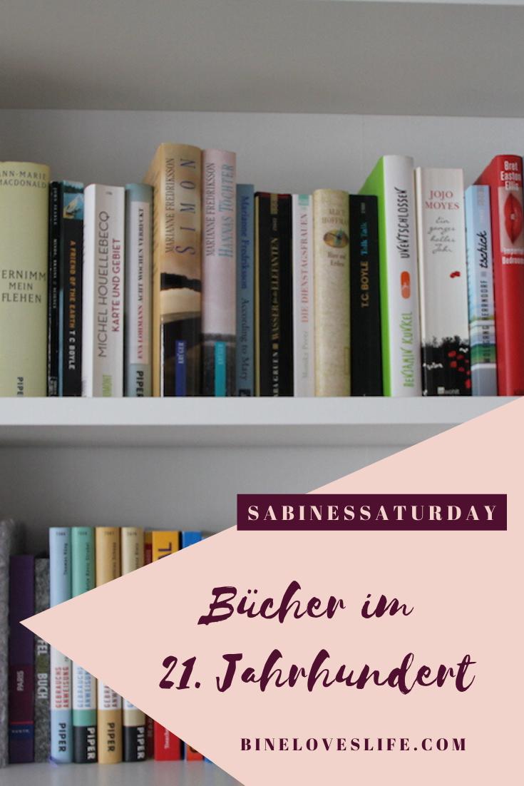 Bücher im 21. Jahrhundert Pinterest BineLovesLife
