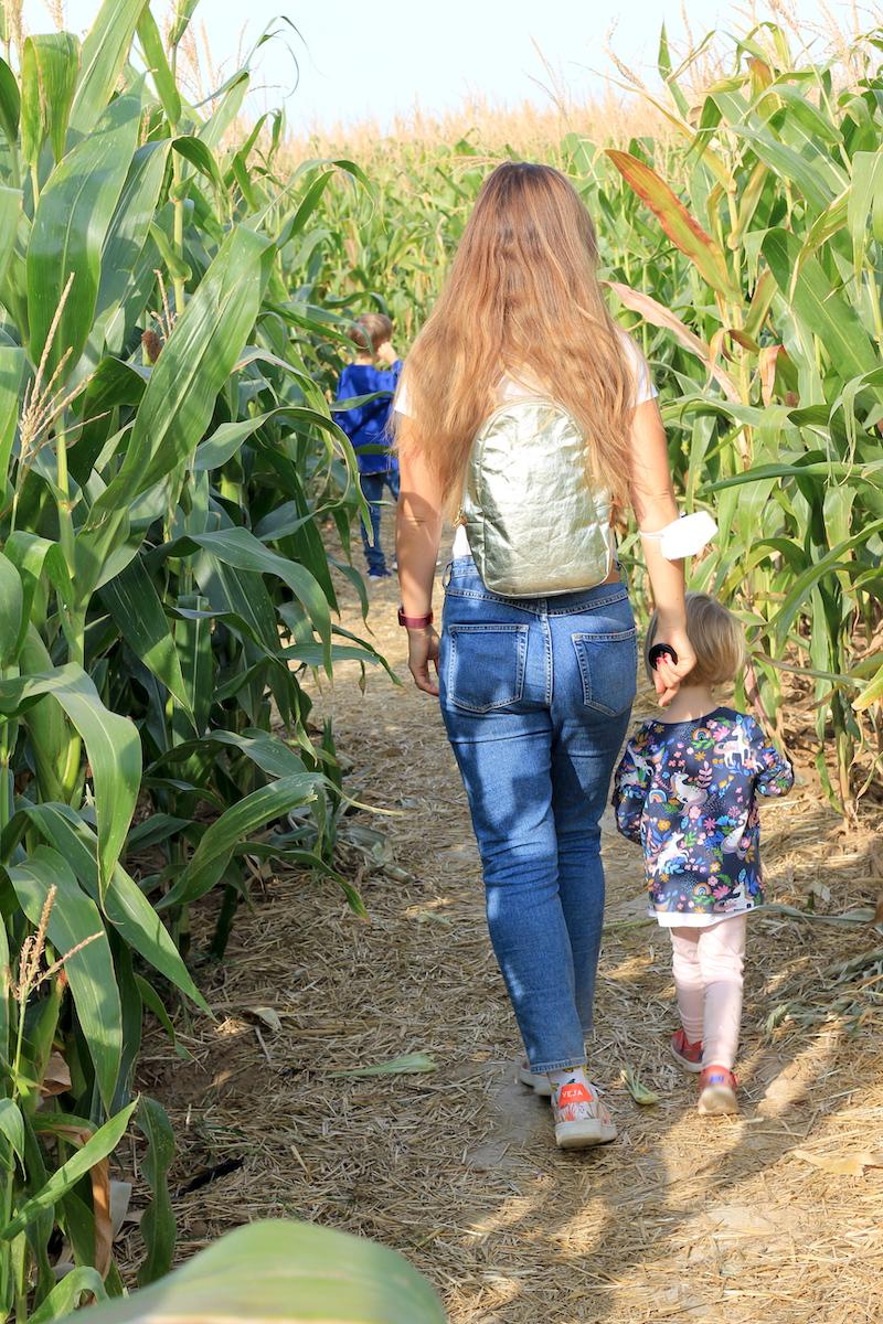 Ausflug Maislabyrinth Rhein Main FamilyFriday BineLovesLife