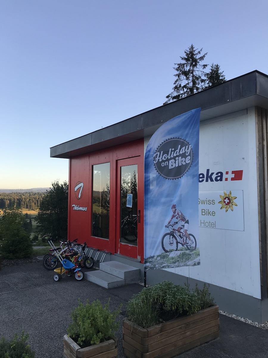 Swiss Bike Hotel Montfaucon BineLovesLife