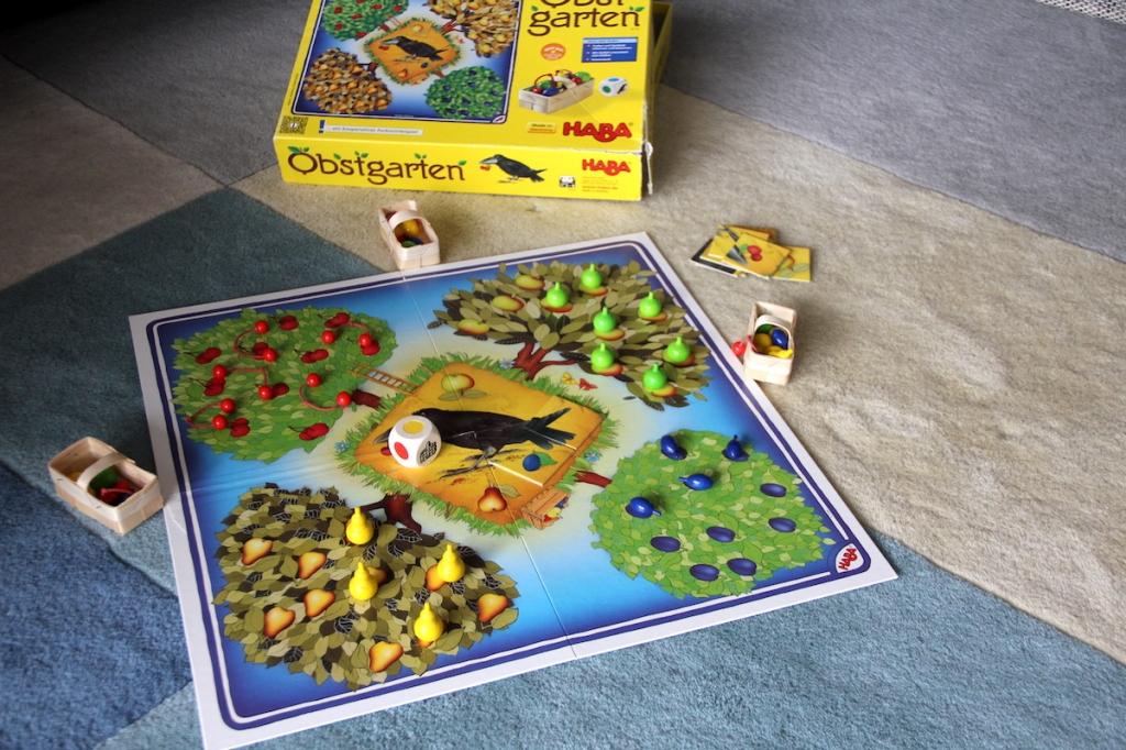 Erste Spiele für Kinder Obstgarten BineLovesLife