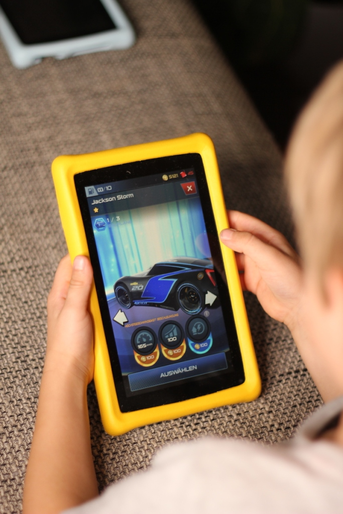 Pebble Gear Kids tablet Unterhaltungsspiele Cars BineLovesLife