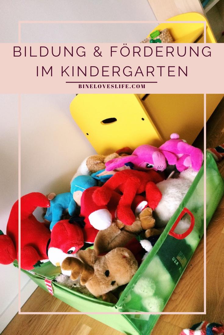 Bildung und Förderung im Kindergarten BineLovesLife