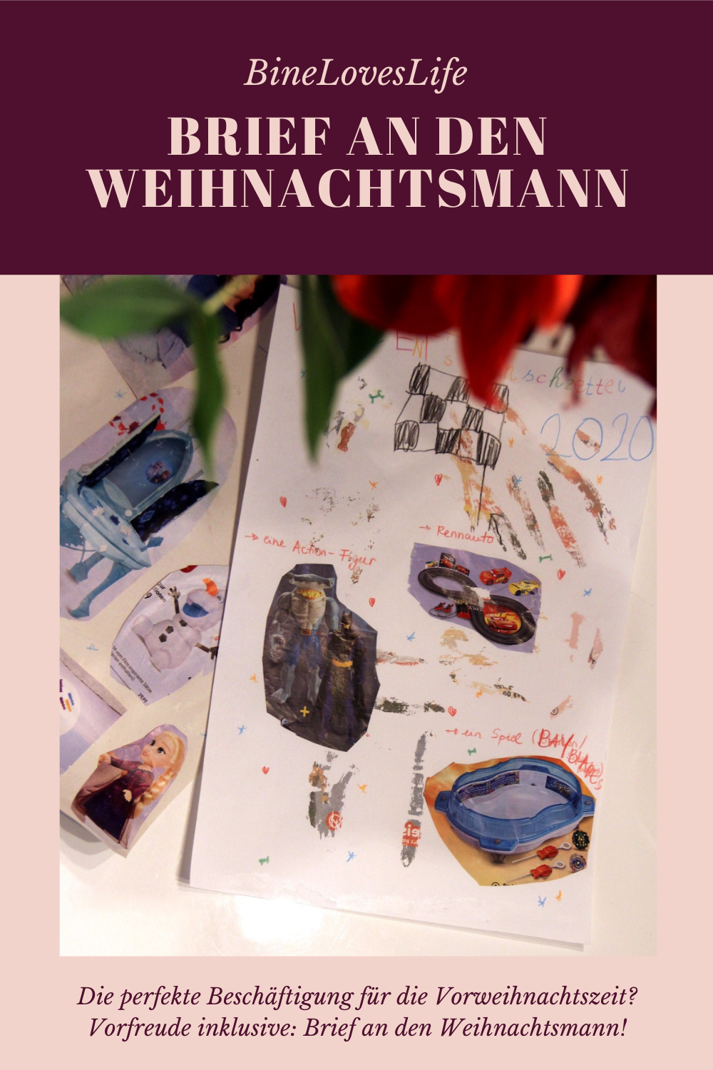 Brief an den Weihnachtsmann BineLovesLife