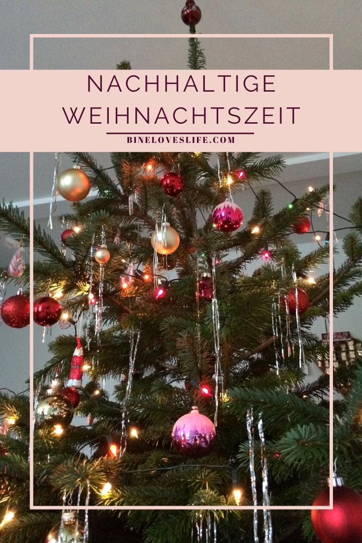 xNachhaltige Weihnachtszeit BineLovesLife