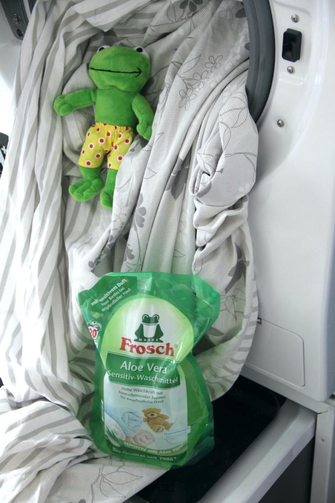 Frosch flüssig Waschmittel BineLovesLife