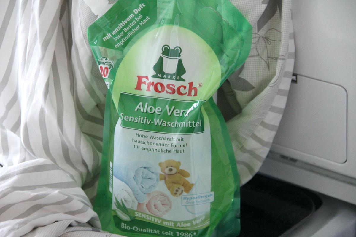 Frosch Waschmittel BineLovesLife