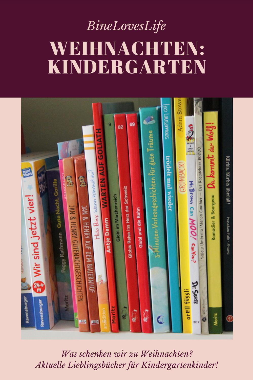 Weihnachtsbücher für Kindergartenkinder BineLovesLife