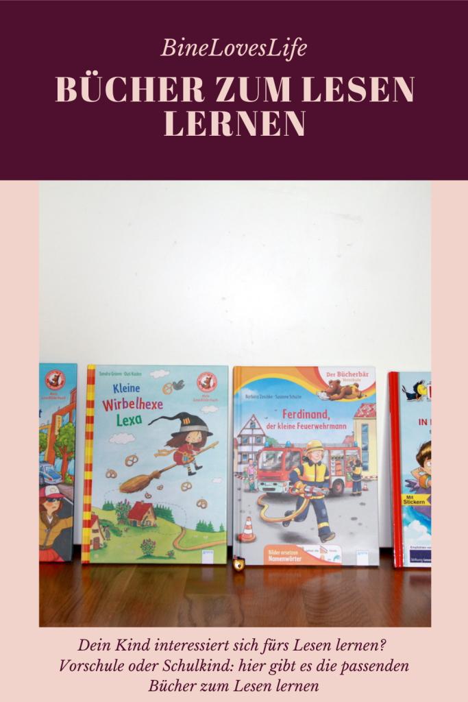 Bücher zum Lesen lernen BineLovesLife