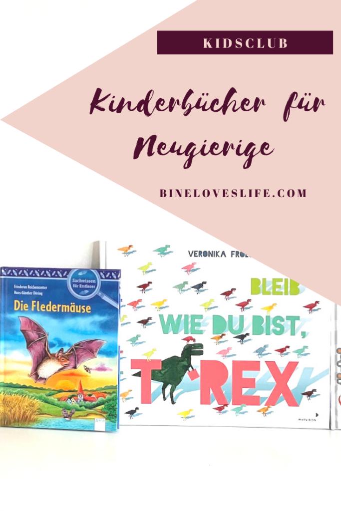 Kinderbücher für Neugierige Pin BineLovesLife