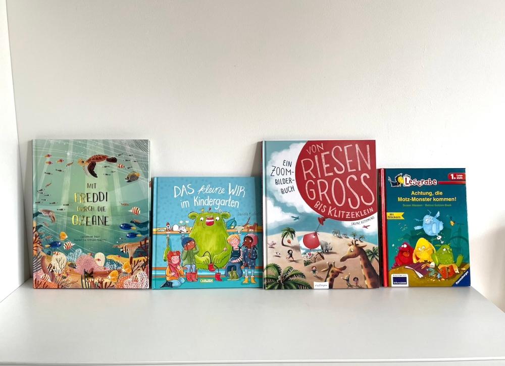 Kinderbücher ein Teil des Ganzen BineLovesLife