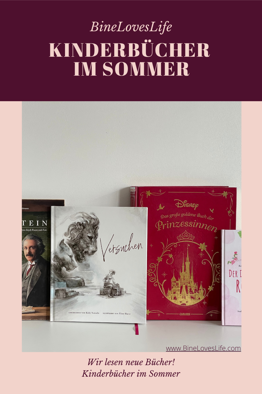 Kinderbücher im Sommer BineLovesLife