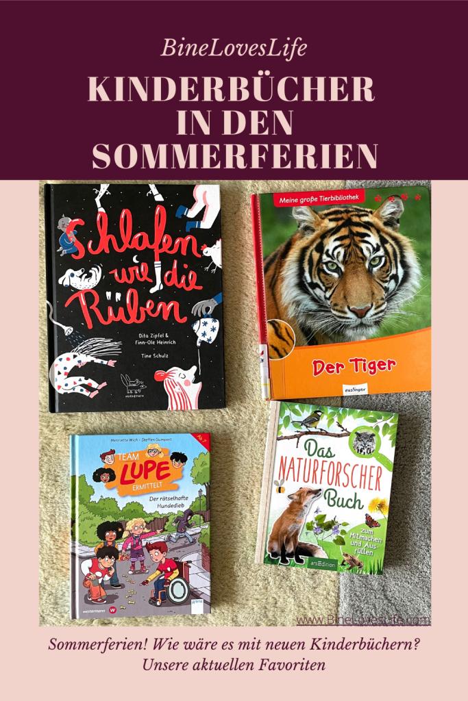 Kinderbücher in den den Sommerferien BineLovesLife