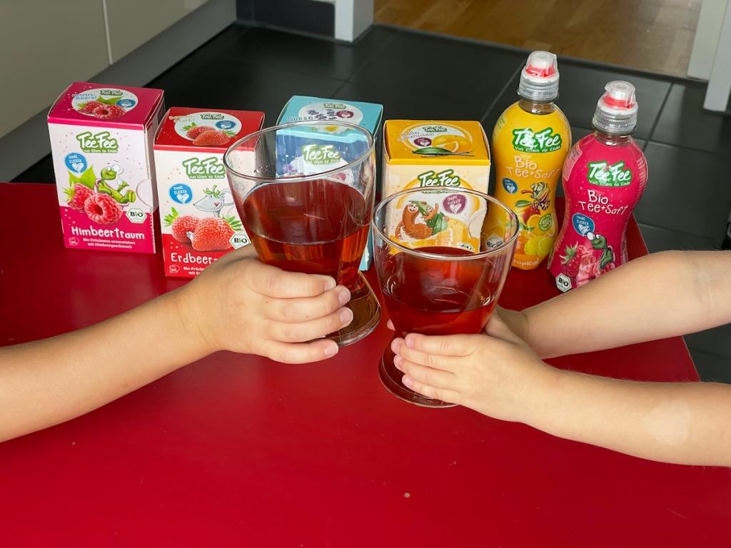TeeFee BioTee und Saft für Kinder BineLovesLife